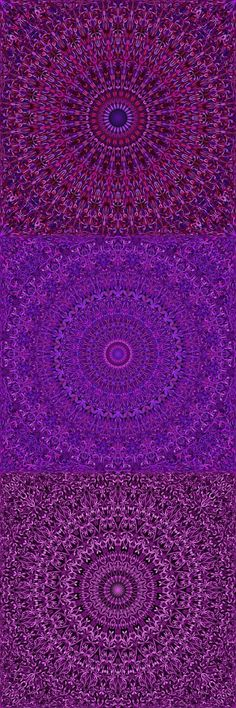 Buy 12 Purple Floral Mandala Seamless Patterns by DavidZydd on GraphicRiver. 12 seamless floral mandala pattern backgrounds in purple tones DETAILS: 12 JPG (RGB files) size: 12 geome. Mandala Pattern, Mandala Design, Mandala Art, Geometric Background, Background Patterns, Purple Backgrounds, Abstract Backgrounds, Wallpaper Backgrounds, Purple Pattern