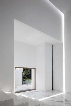White Marble Home via EMS Designblog