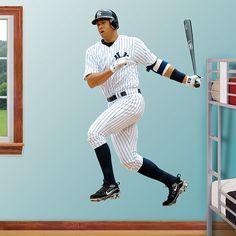 Fan Jumps For Joy At Yankee Stadium