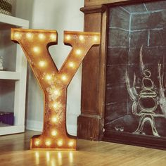 """24"""" Letter Y by Vintage Marquee Lights"""