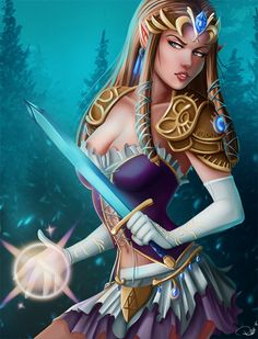 Princess Zelda by AerianR on DeviantArt