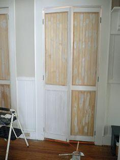 updating louvered bi-fold doors
