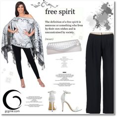 Free spirit by GCGME.COM by helenevlacho on Polyvore featuring moda, GCGme, gcgme and plus size clothing