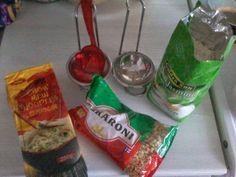 I Like&UseKitchen Rice,Nudels and Macarons....U?