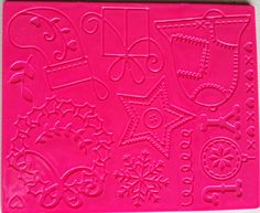 Christmas magazine freebie texture plate