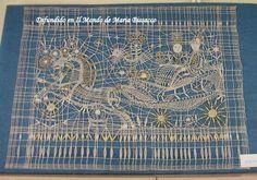 Vamberk 2007 Weaving Projects, Bobbin Lace, Doilies, Blackwork, Contemporary Design, Textiles, Colour, Antiques, Modern