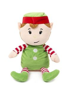 hollyhome soft stuffed animal christmas elf plush toy 10 inches christmas elf gifts for
