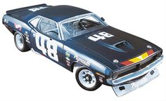 Find 1:18 Scale Dan Gurney 1970 Plymouth Trans Am Barracuda Diecast Model A1806101 and get Free Shipping on Orders Over $99 at Summit Racing!  More than just a winning race car builder and driver, Dan Gurney is a true American motorsport legend! Pay tribute to the man with this 1970 Plymouth Trans Am Barracuda diecast. Just like the car that rolled out of Dan's All American Racers shop, the 1:18 scale '70 'Cuda model car comes equipped with a race-prepped V8 engine, a fully caged ...