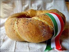 Limara péksége: Csavart koszorú, az ünnepi kenyér Bagel, Lime, Cooking, Food, Hungary, Breads, Kitchen, Bread Rolls, Limes