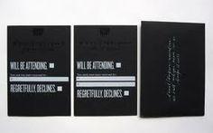 black and white wedding invitations - Google Search