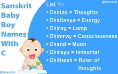 Unique Sanskrit Baby Boy Names With C Sanskrit Baby Boy Names, Names Starting With C, Name Suggestions, Baby Names, Baby Boys, Meant To Be, Search, Check, Collection