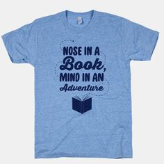 Nose In A Book Mind In An Adventure