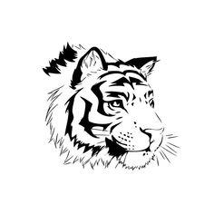 dessin de tigre (9)