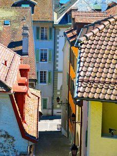 Nyon, Switzerland - photo by Mel Bieler