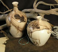 How to make Horsehair Pottery?