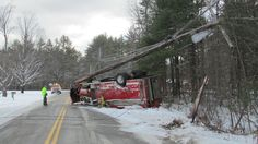 New Hampshire Fire Truck Accident