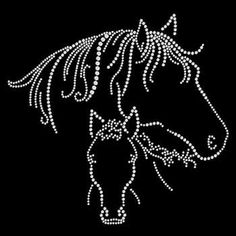 Mare & Foal Cowgirl Horse Rhinestone Motif shirt Mare and Foal Tee Shirt Designs, Tee Design, Bling Shirts, Rhinestone Shirts, Rhinestone Art, Cowgirl And Horse, Horse T Shirts, Dot Painting, As You Like