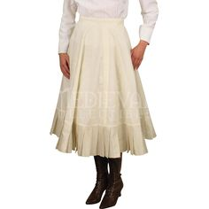 Short Pleated Petticoat - 101560 by Medieval Collectibles