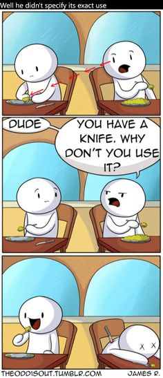 Nice use of a knife :)