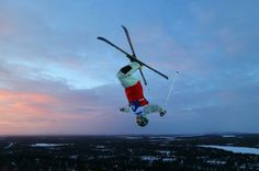 Ole Fretheim participates in a training session at the FIS Freestyle Ski World Cup in Finland: pic.twitter.com/2DIGk4KHs4