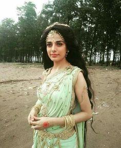 Sati Cute Celebrities, Indian Celebrities, Beautiful Bollywood Actress, Beautiful Actresses, Shiva Parvati Images, Pooja Sharma, Ballroom Costumes, Goddess Lakshmi, Ethnic Outfits