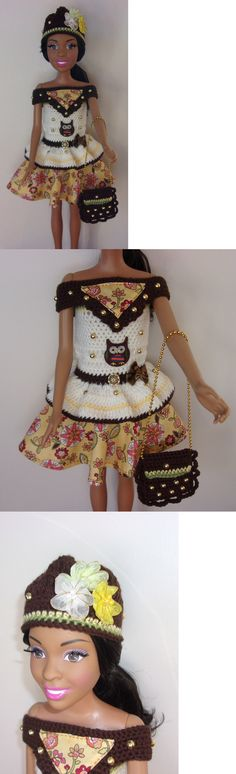 Custom Handmade Barbie Clothing: 2017 Handmade Clothing And Accessories For 28 Best Fashion Friends Barbie Doll BUY IT NOW ONLY: $35.0