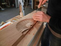 reproducing newport furniture carving a shell