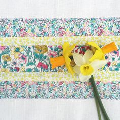 Blog - Alice Caroline - Liberty fabric, Easter Craft Project Tea Towel