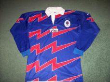 1998 1999 Stade Francais L/s Rugby Union Shirt Adults Medium Paris France