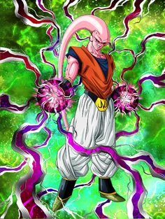 """[Ultimate Majin Menace] Majin Buu (Ultimate Gohan) """"What's wrong? Given up already?!"""" """"You're hardly worth the effort."""" """"The pain will end soon. I'll only make you suffer for a little while..."""""""
