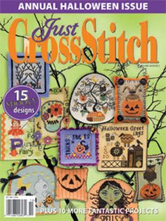 Just Cross Stitch Magazine, we carry this magazine in the shop.