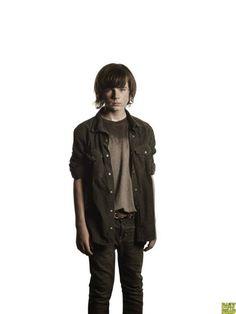 The Walking Dead 4ª Temporada: Carl Grimes.