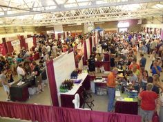 America's Grape Country Wine Festival, every 2nd weekend in Aug. At the Chautauqua County Fairgrounds, Dunkirk, NY! Music, food, wine, crafts...