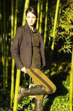 Bambous sur le blog de mode d'Elodie we-are-fashionable. Bamboos environment on the fashionblog of Elodie we-are-fashionable.