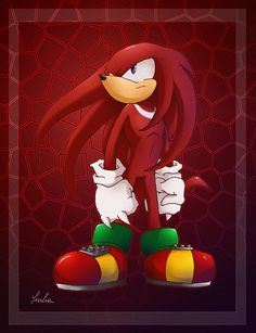 If Rouge is my favorite female sonic chara, Knuckles is certainly my favourit. The Guardian The Sonic, Sonic Art, Sonic Boom, Sonic The Hedgehog, Doctor Eggman, Red Stuff, Edge Of Tomorrow, Sonic Heroes, Sonic Franchise