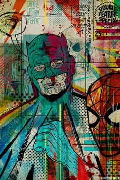 Dustin Parker (American Digital Painter, Illustrator + Geek ...