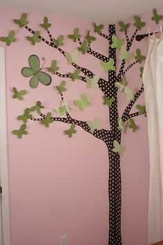 painted tree- for Kylie's room!
