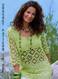 Woman summer sweater pullover S M L sizes in door ErenaCrochetStudio