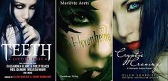 Published Book covers by ValentinaKallias on DeviantArt