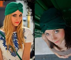 Peinados con turbantes, fotos (6/32) | Ellahoy