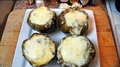 Philly Cheesesteak Stuffed Bell Peppers On The Kamado Joe -- Watch Smoky Ribs create this delicious recipe at http://myrecipepicks.com/37/SmokyRibs/philly-cheesesteak-stuffed-bell-peppers-on-the-kamado-joe/