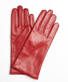 Leather iTouch gloves. Such a great holiday gift.