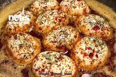 Yumurta Kapama Tarifi nasıl yapılır? 2.248 kişinin defterindeki Yumurta Kapama Tarifi'nin resimli anlatımı ve deneyenlerin fotoğrafları burada. Yazar: Tuğba Gamzeli Melek Turkish Breakfast, Baked Potato, Bakery, Muffin, Food And Drink, Ethnic Recipes, Recipe, Food And Drinks, Bread Store