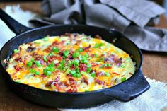 Loaded Baked Potato Breakfast Skillet - Will Cook For Smiles