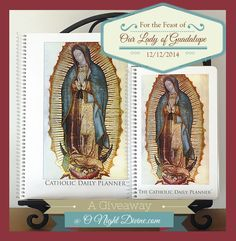 O Night Divine, the Advent / Christmas blog is having a contest -- free Catholic planner from Michele Quigley.