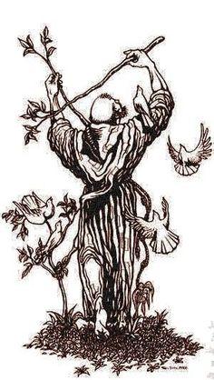 Francis Of Assisi, St Francis, Patron Saint Of Animals, San Francisco, Patron Saints, Sacred Art, Catholic, Crafting, Bible