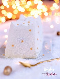 Recette de bûche de Noël Ispahan framboise, rose, litchi #bûche #bûchedenoël #recette