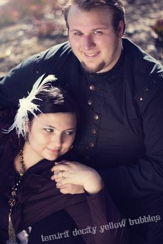 Our Engagement Photos! Steampunk Zombie Fight.