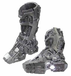 For Gabe - Iron Man: Tony Stark Mech Test - Mech Boots w/ Lights