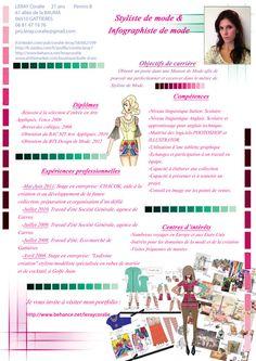 fashion CV - Google Search